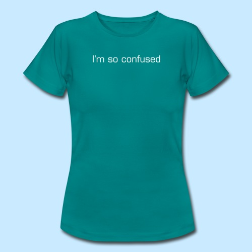 Confused (women's) - Women's T-Shirt