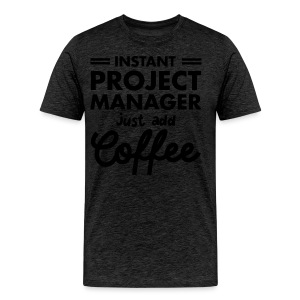 Instant Project Manager - Premium T-skjorte for menn