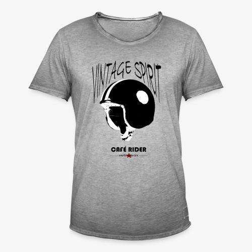 Café Rider Jet Vintage Spirit - T-shirt vintage Homme