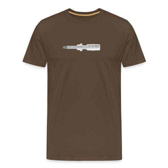 Button - Männer T-Shirt
