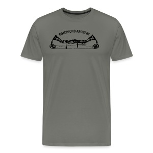 Herren-Shirt: Compound Archery - Männer Premium T-Shirt