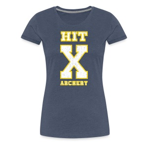 Frauen T-Shirt - HIT X ARCHERY - Frauen Premium T-Shirt