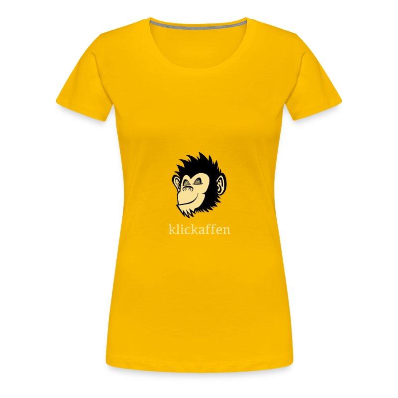 Klickaffen Studio Shirt - female - Frauen Premium T-Shirt