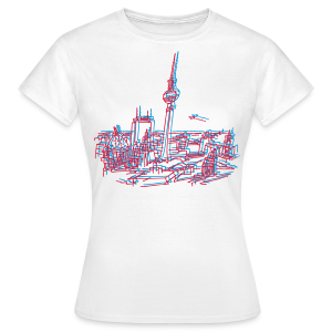 Berlin Panorama - Frauen T-Shirt