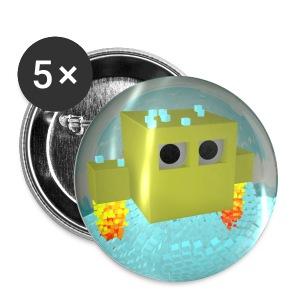Tap The Pixel - Bademeister - Sticker - Buttons mittel 32 mm