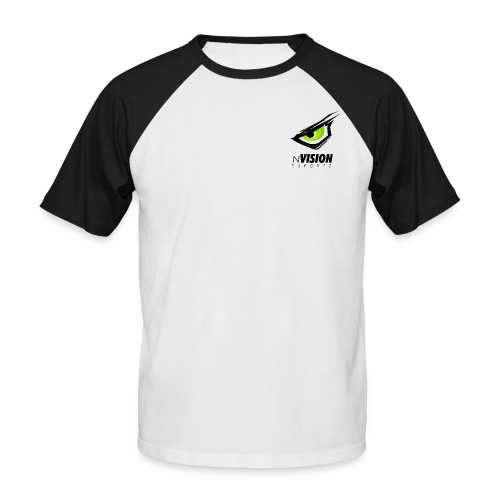 Männer Baseballshirt kurzarm - Männer Baseball-T-Shirt