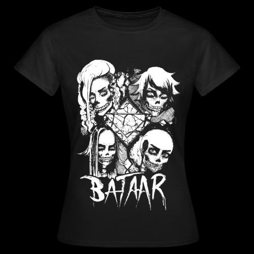 VICIOUS SKULLTULA Girls T-shirt w/Back Print - Women's T-Shirt