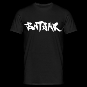 BatAAr LOGO Boys White on Black T-shirt - Men's T-Shirt