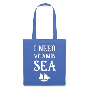I Need Vitamin Sea - Stoffbeutel