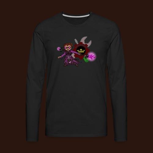 [2016] Sweatshirt mit Magier bis 5XL - Männer Premium Langarmshirt