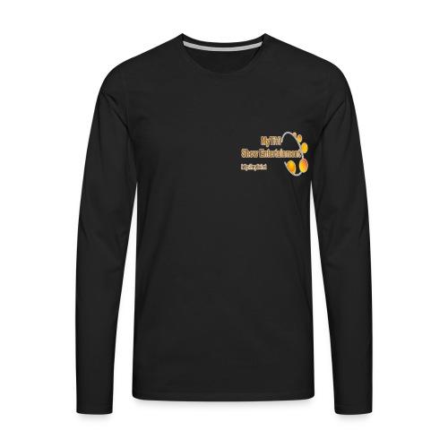 Langarm Tshirt Brustlogo - Männer Premium Langarmshirt