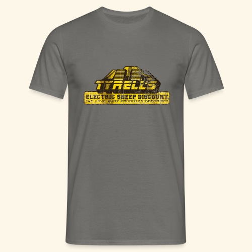 Tyrell's Electric Sheep Discount - Männer T-Shirt