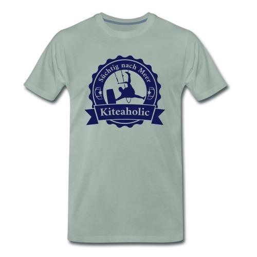 Kiteaholic Bursch'n T-Shirt - Männer Premium T-Shirt