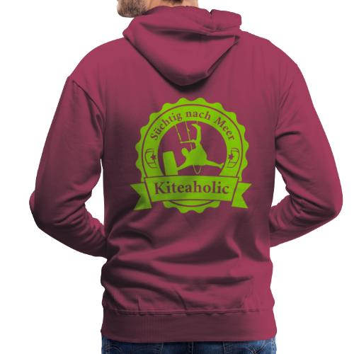 Kiteaholic Bursch'n Kapuzenpullover - Männer Premium Hoodie