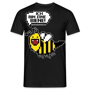 Pixel Biene - Guys - Männer T-Shirt