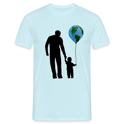 t shirt pere et fils planete n ts h b c yetishirts yeti. Black Bedroom Furniture Sets. Home Design Ideas