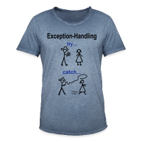 Java Exception Handling T-Shirt