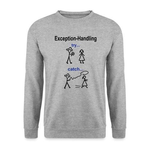 Java Exception Handling Pullover - Männer Pullover