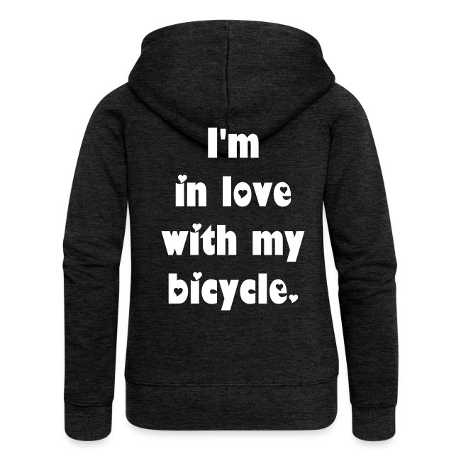 Velo Love - I'm in love with my bicycle. (women)