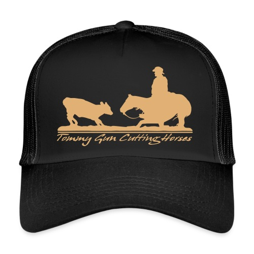 Tommy Gun  Cutting Horses - Trucker Cap