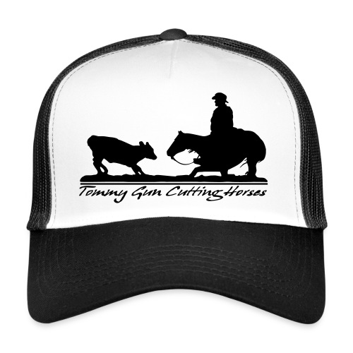 Tommy Gun  Cutting Horses - Trucker Cap
