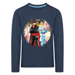 Zorro The Chronicles Zorro und Diego - Kinder Premium Langarmshirt