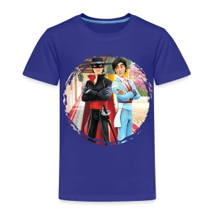 Zorro The Chronicles Zorro und Diego - Kinder Premium T-Shirt