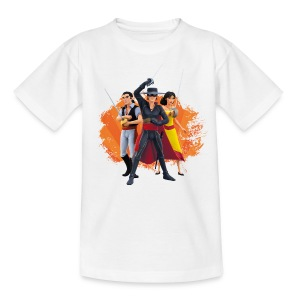 Zorro The Chronicles Zorro Bernado Ines Laserschwert - Teenager T-Shirt