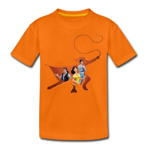 Zorro The Chronicles Zorro Schatten mit Trio - Teenager Premium T-Shirt