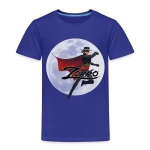 Zorro The Chronicles Zorro Pose mit Mond - Kinder Premium T-Shirt