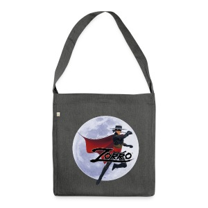 Zorro The Chronicles Zorro Pose mit Mond - Schultertasche aus Recycling-Material