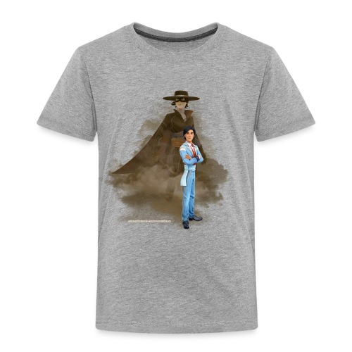 Zorro The Chronicles Zorro Diego Mythos - Kinder Premium T-Shirt