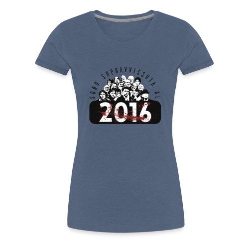 La tshirt del 2016 (F) - Maglietta Premium da donna