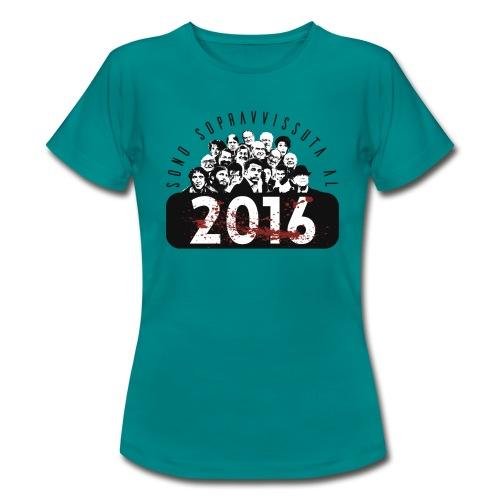 La tshirt del 2016 (F) - Maglietta da donna