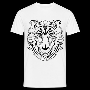 Electric Tiger  - Männer T-Shirt