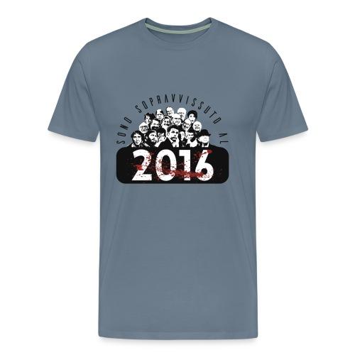La tshirt del 2016 (M) - Maglietta Premium da uomo