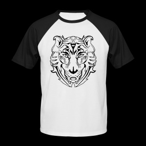Electric Tiger  - Männer Baseball-T-Shirt