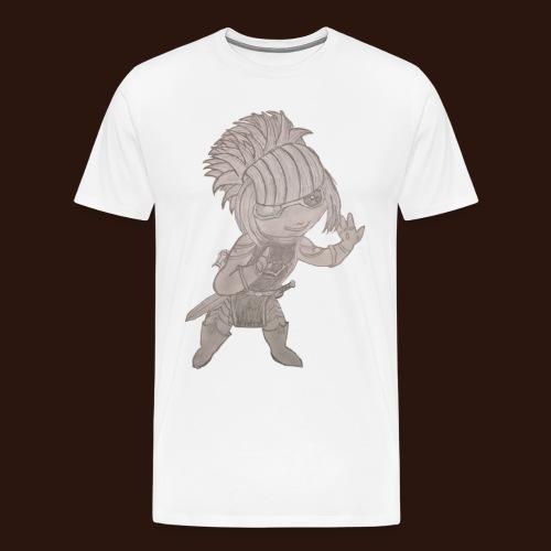 [2016] Shirt mit Sketch bis 5XL - Männer Premium T-Shirt