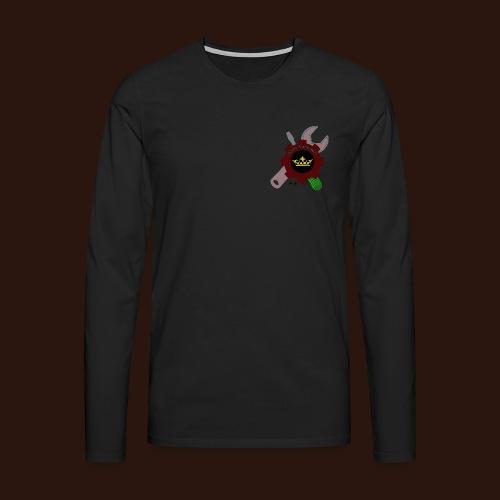 [2016] Sweatshirt mit Gardenlogo bis 5XL - Männer Premium Langarmshirt