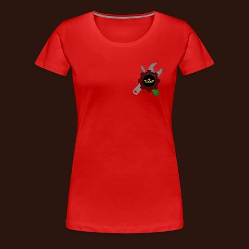 [2016] Shirt mit Gardenlogo bis 5XL (Lady) - Frauen Premium T-Shirt