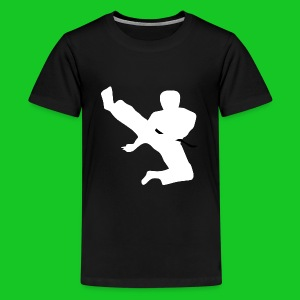 Karate teenager t-shirt - Teenager Premium T-shirt