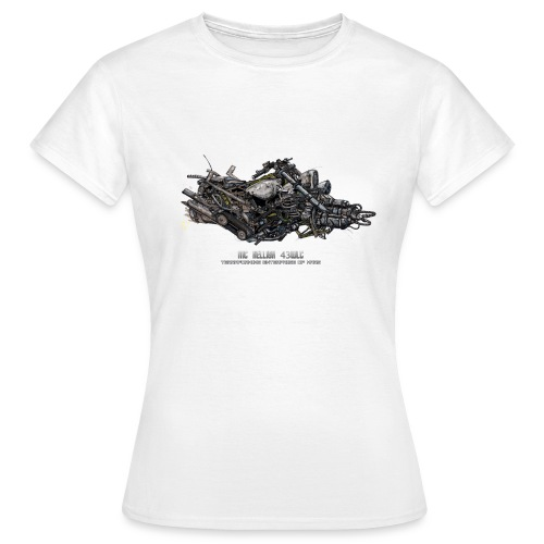HELLISH 43WC - T-shirt Femme