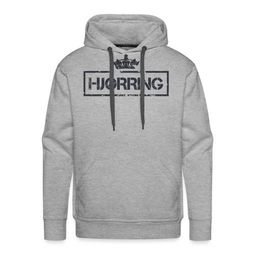 Hjørring Hættetrøje (Mørkt Motiv) - NY ! - Herre Premium hættetrøje