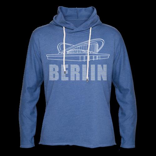 Schwangere Auster Berlin - Leichtes Kapuzensweatshirt Unisex