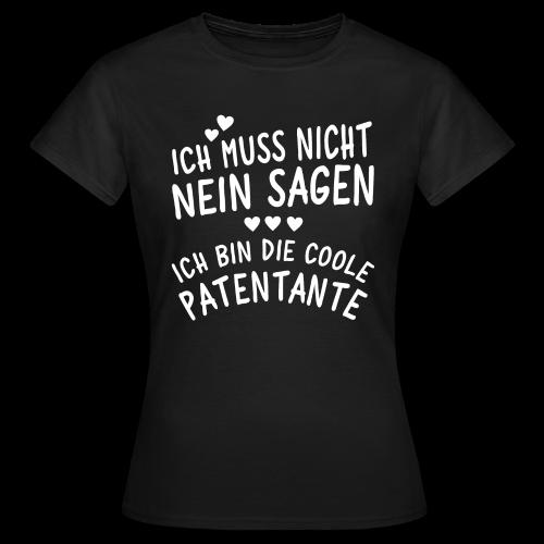 Coole Patentante - Frauen T-Shirt