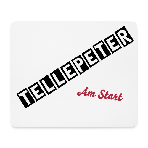 Tellepeter Maus Pad - Mousepad (Querformat)
