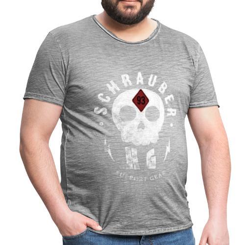 HG 93 Scull - Männer Vintage T-Shirt