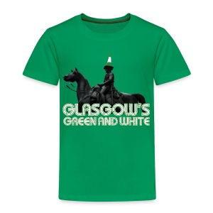 Glasgow's Green & White - Kids' Premium T-Shirt