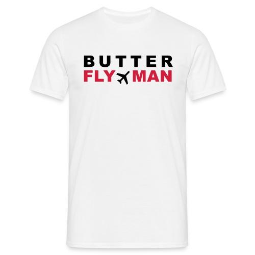 Butterfly Man - Männer T-Shirt