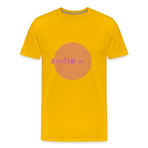 DISC pink - glitzernd - Männer Premium T-Shirt